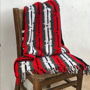 Other - Crocheted Afghan Throw Blanket